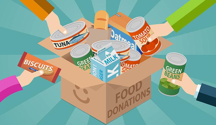 Rustic Wood Community Announces Food Drive